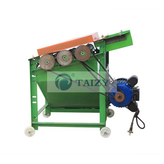 small sunflower thresher