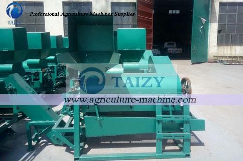 sunflower-threshing-machine