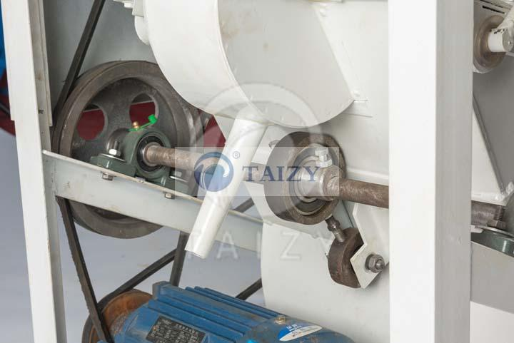 rice stone removing machine
