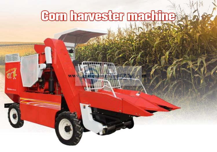 corn harvesting machine