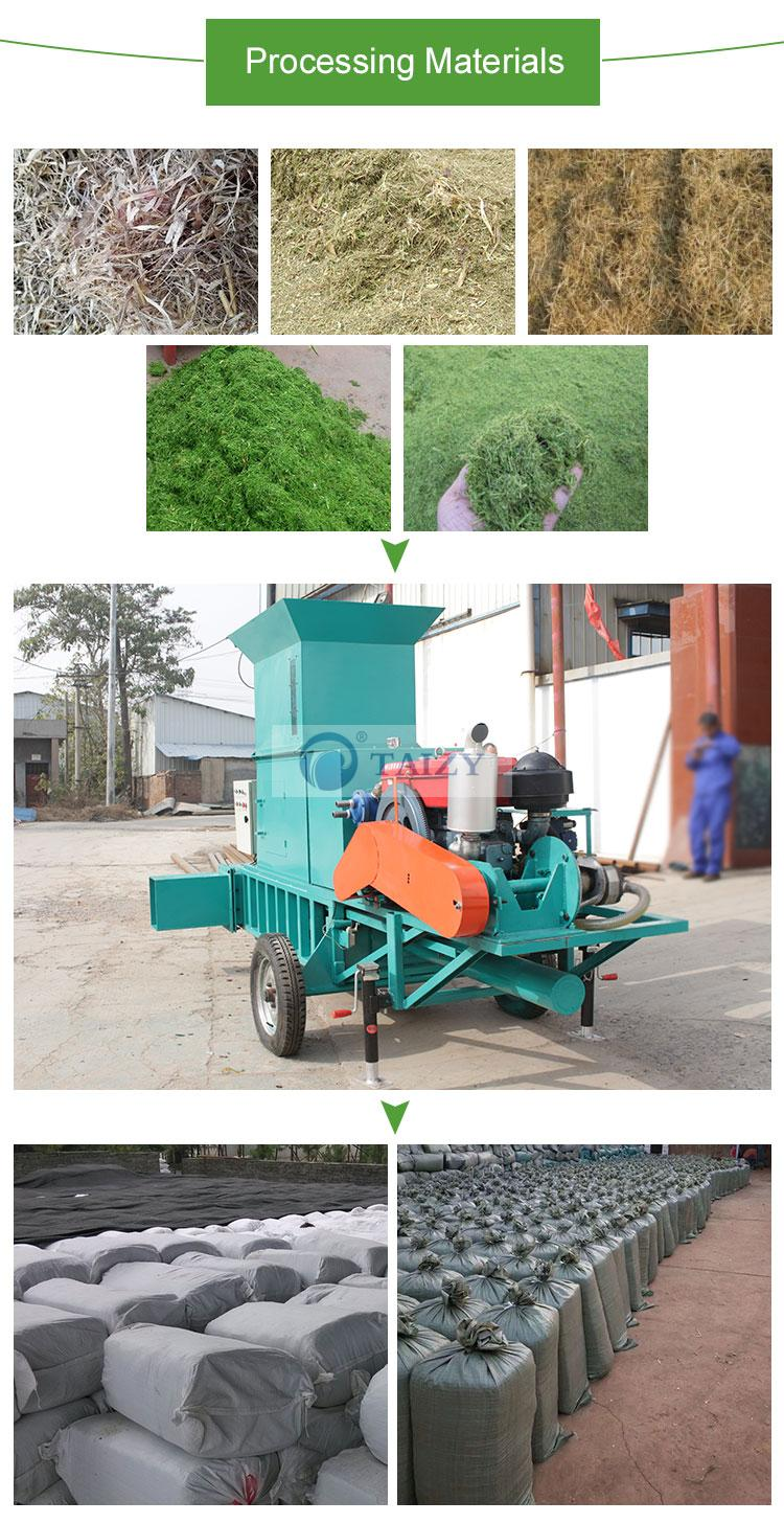 straw baling machine