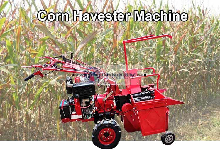 hand operated maize harvester machine