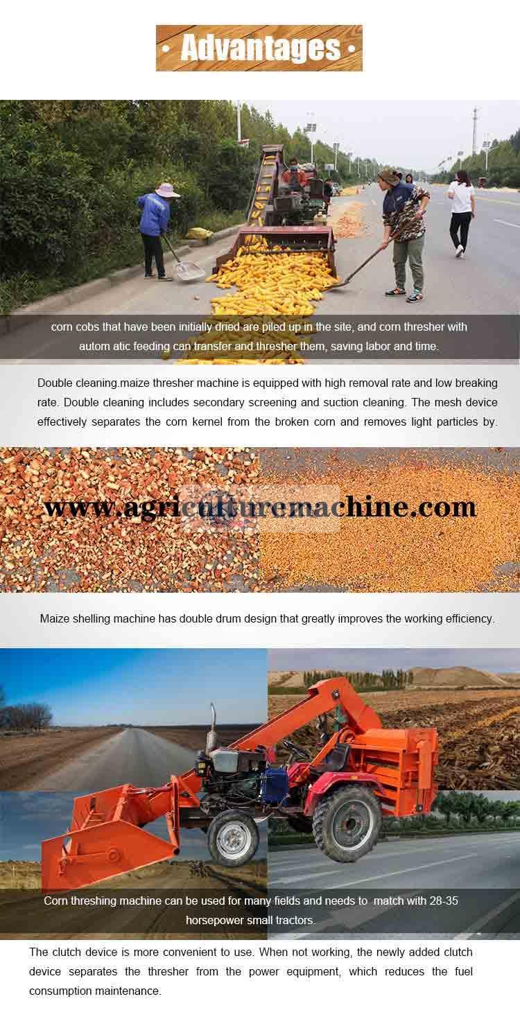 maize shelling machine