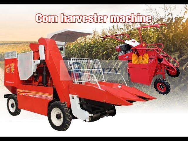 corn harvester