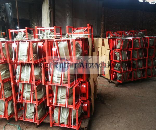 rice threshing machine delivery site