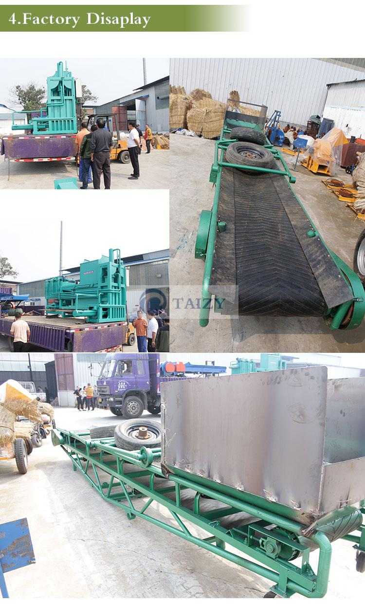 silage baling machine