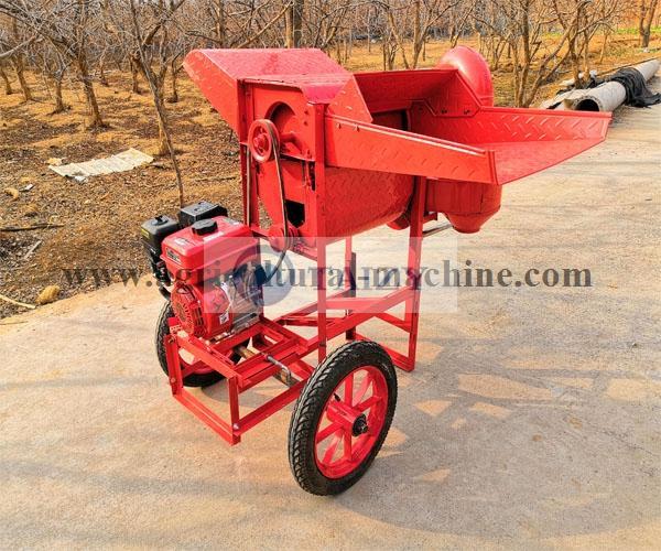 wheat threshing machine
