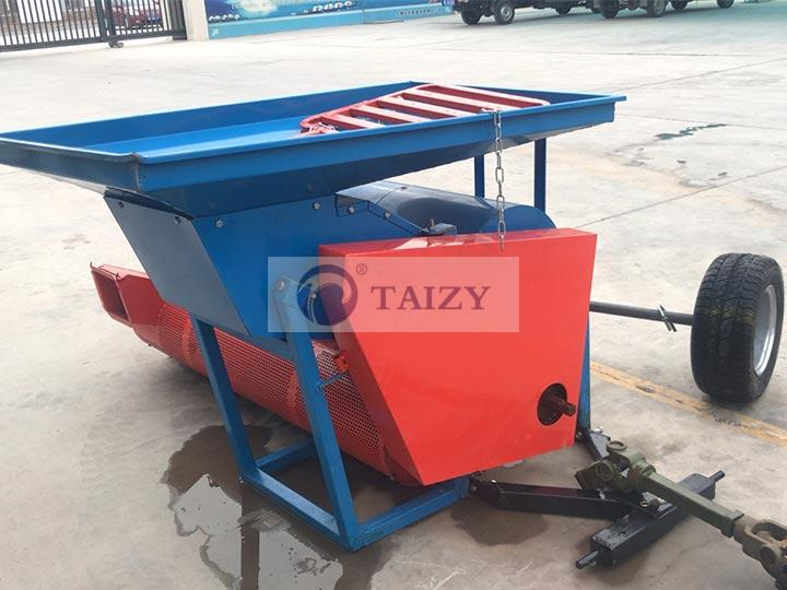 pumpkin harvesting machine