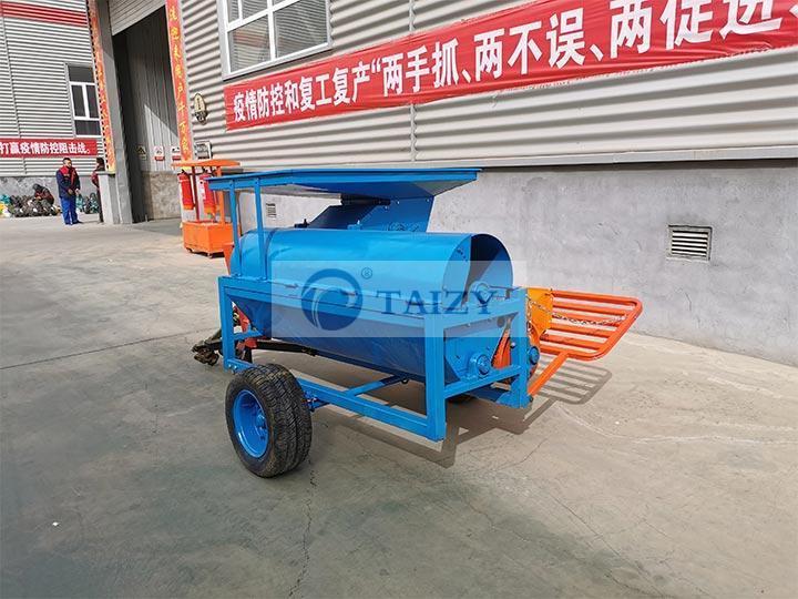 pumpkin harvesting machine factory