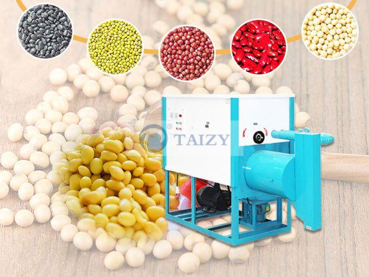 peel mung bean machine