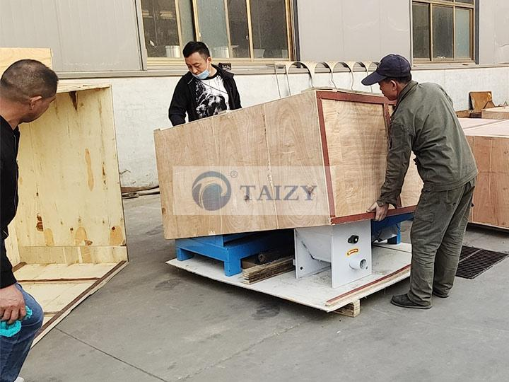 fish feed pellet machine packing