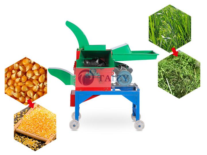 Combine Chaff Cutter and Grinder Machine