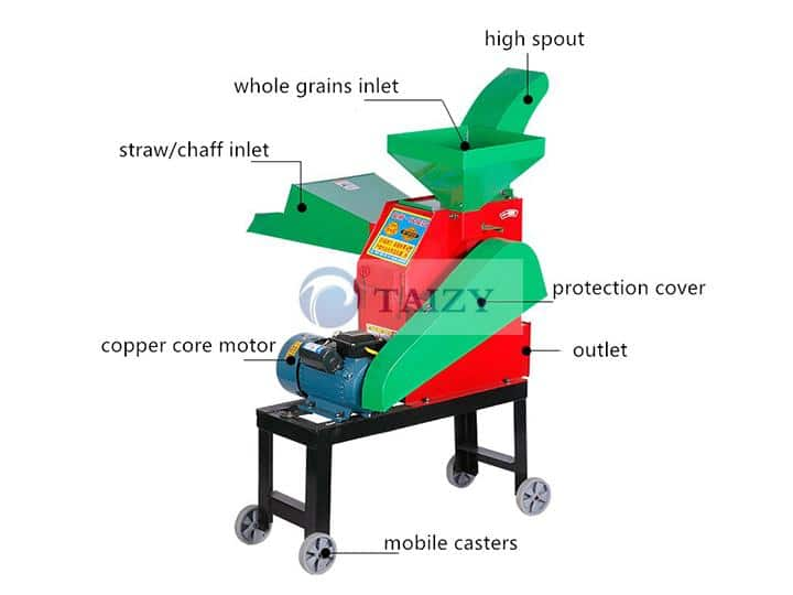 The Structure Chaff cutter and Grain Grinder