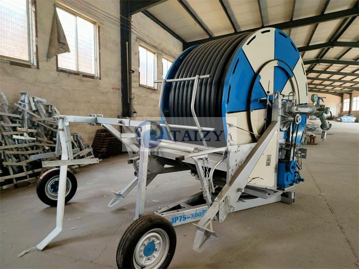 reel type irrigation-
