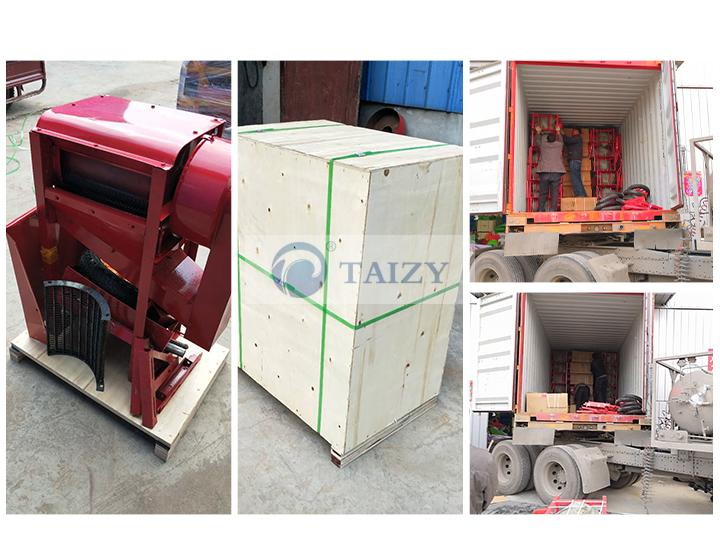 rice thresher sold to Nigeria