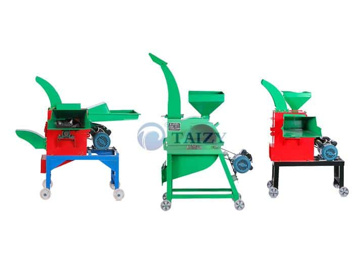 three types chaff cutter and grinder